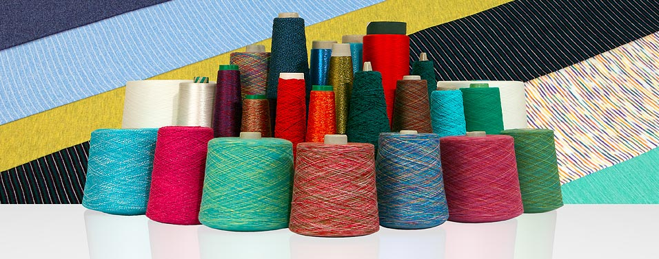 Fancy yarns of our range are always meeting latest fashion trends.